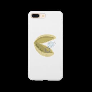 キカガクポップのピスタチオケース Smartphone cases