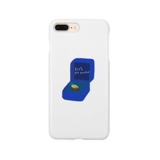 ピスタチオ指輪 Smartphone cases