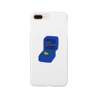 キカガクポップのピスタチオ指輪 Smartphone cases