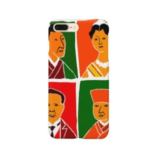 尊敬する日本人 Smartphone cases