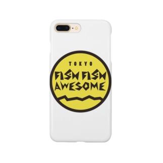 FFA Fisherman ロゴコーチジャケット Smartphone cases