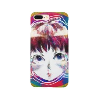 鼻血ガール Smartphone cases
