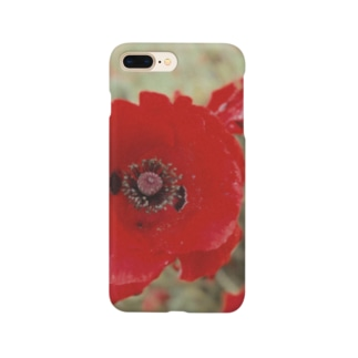 《紅い花》 Smartphone cases