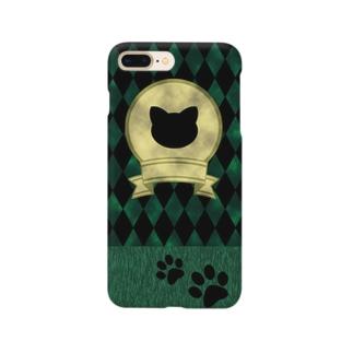 アンティークキャット【緑】 Smartphone Case