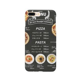 メニュー風 Smartphone cases