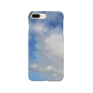 虹(最低限Ver.) Smartphone cases