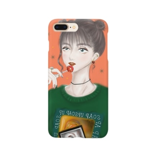 ❁wonder❁ の グッズ Smartphone cases