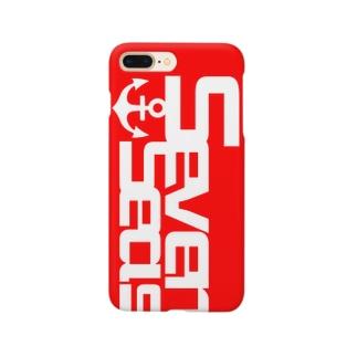 Seven Seas 限定ロゴ Smartphone cases