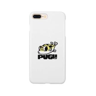 フグのキナ2 Smartphone cases
