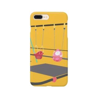 おもちとぶらんこ Smartphone cases
