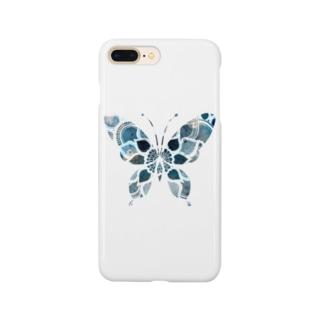 デザイン蝶々 Smartphone cases