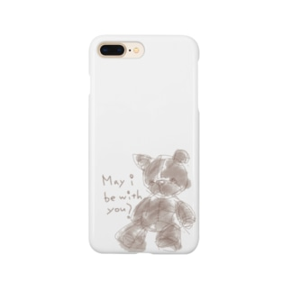 May i be with you?(スマートフォンケース) Smartphone cases
