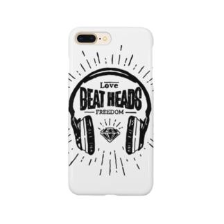 BEATHEADS black print Smartphone cases