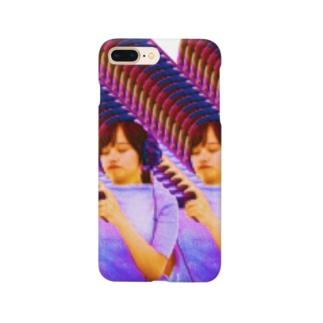 バグヘッドホン女性 Smartphone cases