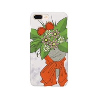 赤い花束 #01 Smartphone cases