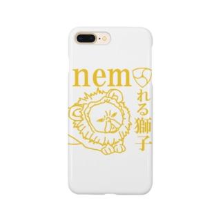 ネムれる獅子ゴールド Smartphone cases