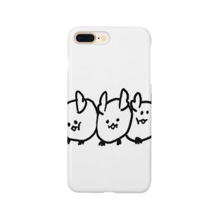 デグーぎゅうぎゅう Smartphone cases