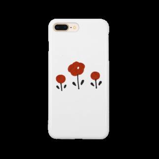 ねごとのほんわかお花 Smartphone cases