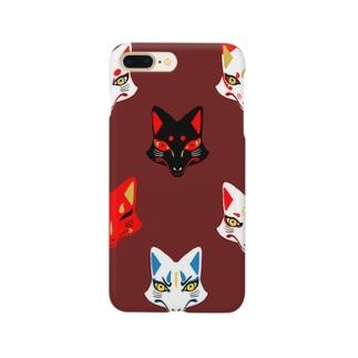 狐面 Smartphone cases