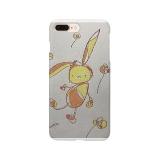 まったりうさぎA Smartphone cases