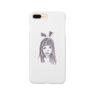 さきちゃん Smartphone cases