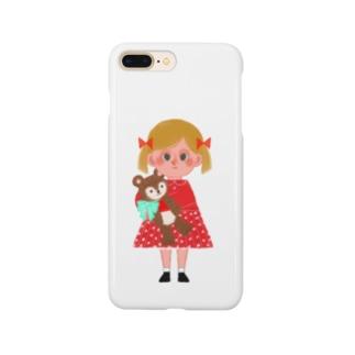 suzunamimariのmy bear! Smartphone cases