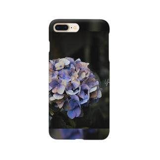 【花途夢】紫陽花(紫) Smartphone cases