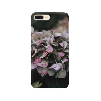 【花途夢】紫陽花(ピンク)  Smartphone cases