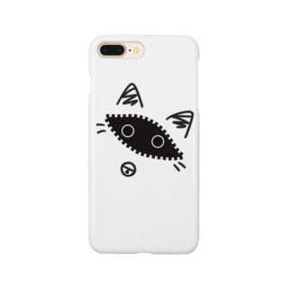 光輝の覗き猫 Smartphone cases