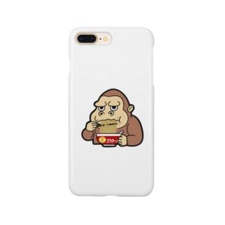ゴリラーメン Smartphone cases