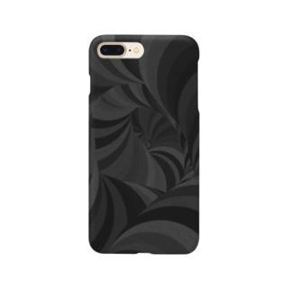 渦巻きスマホケース Smartphone cases