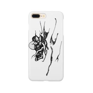 『さる沢』ロゴ Smartphone cases