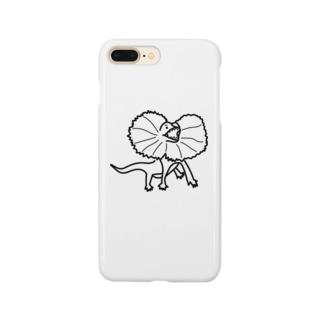 エリマキトカゲ Smartphone cases