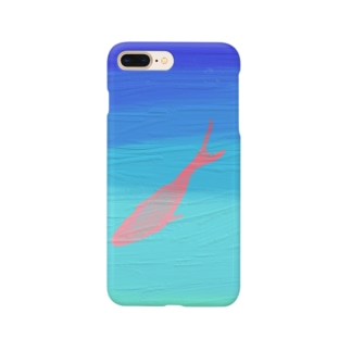 泳ぐ魚 Smartphone cases