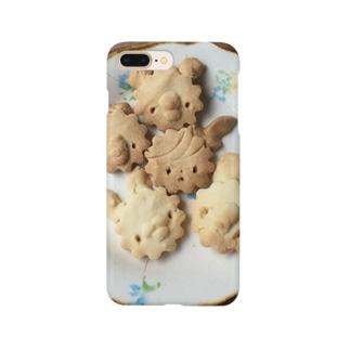 シェイモオリジナル顔クッキー4 Smartphone cases
