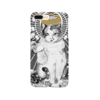 養蚕守護猫 Smartphone cases