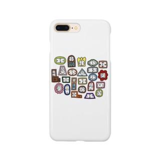 チクタク チクタク ボーンボーン Smartphone cases