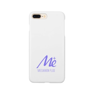 MESARION+ロゴ文字切り抜きVer(紫) Smartphone cases