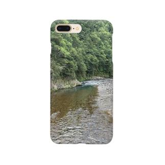 川のケース Smartphone cases