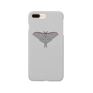 オオミズアオスマートフォンケース Smartphone cases