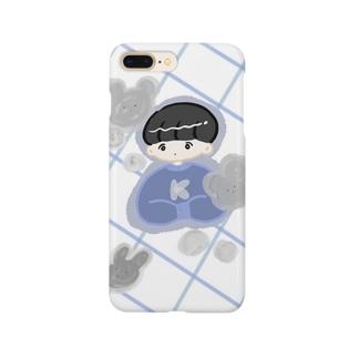 冬の男の子 Smartphone cases
