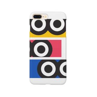 ギョロ目3 Smartphone cases