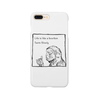 Drinking Monkey 酒飲みザル Smartphone cases