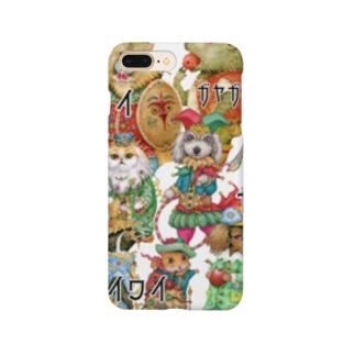 ざわつく動物たち Smartphone cases