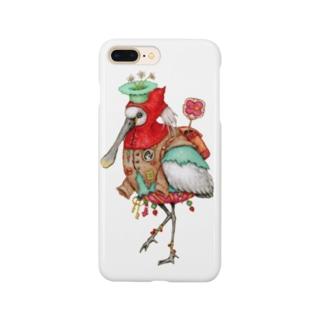 道案内鳥 Smartphone cases