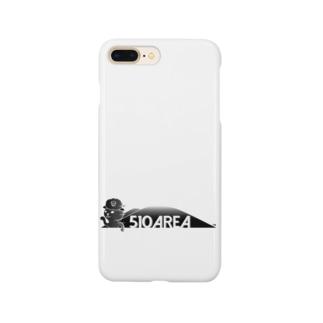 つばきねこ510AREA Smartphone cases