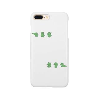 カエル(上と下) Smartphone cases