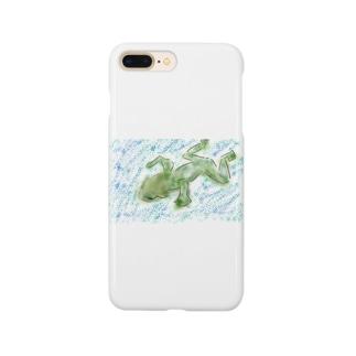 カエルのミカエル Smartphone cases