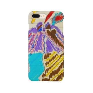 お絵かき Smartphone cases
