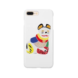 帖佐人形 猫 Smartphone cases